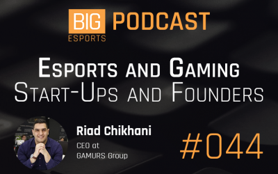 #044 – Esports and Gaming Start-Ups and Founders