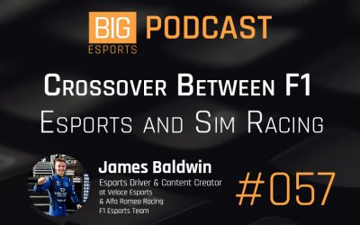 #057 – Crossover Between F1, Esports and Sim Racing