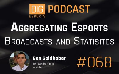 #068 – Aggregating Esports Broadcasts and Statistics with Ben Goldhaber – Co-Founder & CEO at Juked