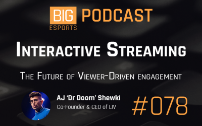#78 – Interactive Streaming. The Future of Viewer-Driven Engagement – with AJ 'Dr Doom' Shewki – Co-Founder and CEO of LIV