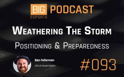 #93 – Weathering The Storm. Positioning & Preparedness – With Ben Feferman – CEO of Amuka Esports
