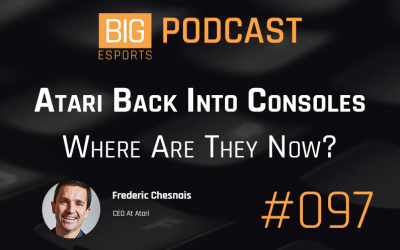 #97 – Atari Back Into Consoles. Where Are They Now? – With Frederic Chesnais – CEO at Atari